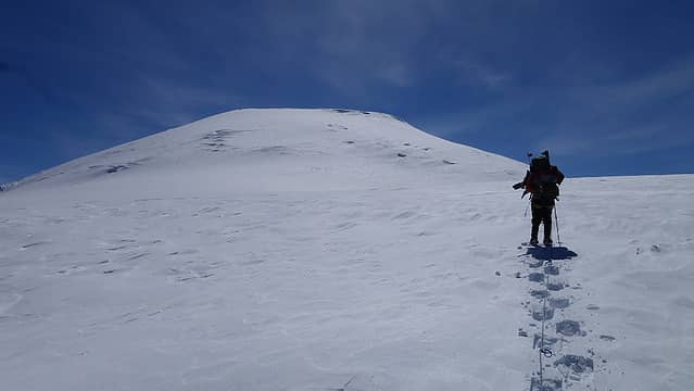 Summit of Sanford ahead