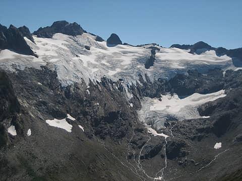 Butterfly glacier