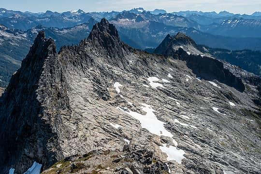 chaval east ridge
