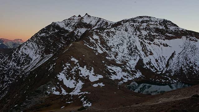 Last light on Twin Peaks
