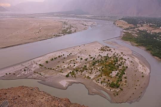 10- Skardu Valley from Kharphocho Fort