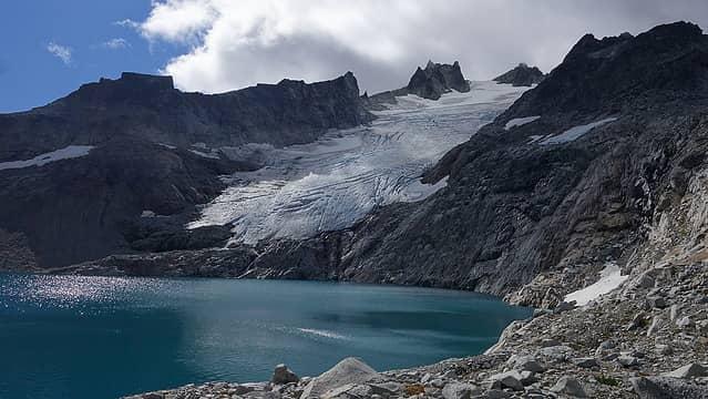 Mount Daniel and Lynch Glacier