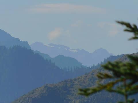 Mt. Olympus in the far distance