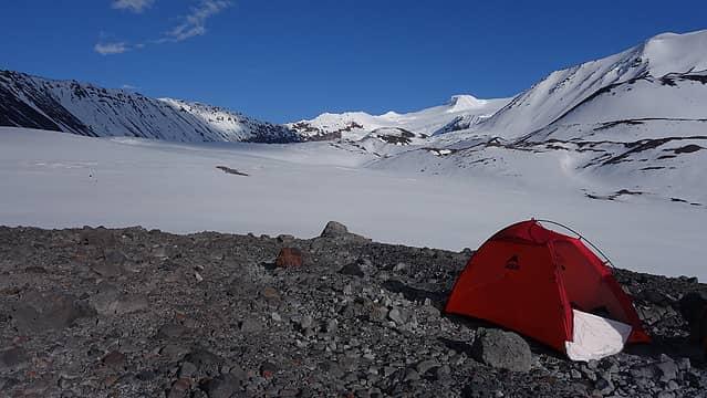 Emily's tent