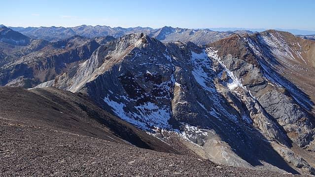 Hinterstossier Peak from HDN
