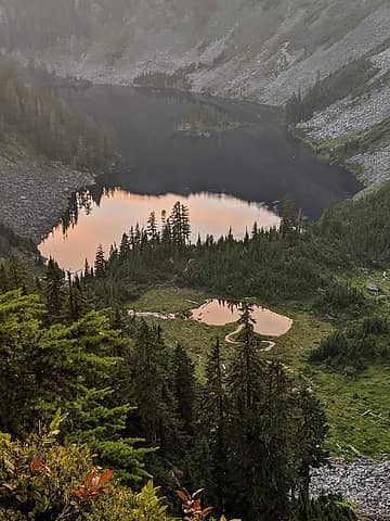 Crater Lake and Upper Tarn