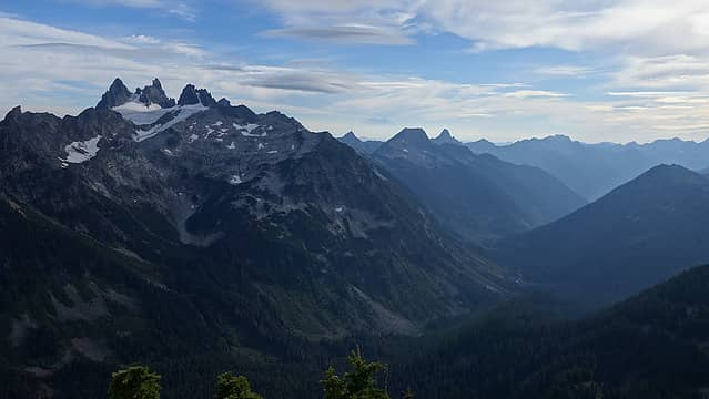 Chimney Rock, Overcoat, Lemah and Rainier