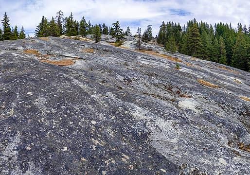 Vespers Rock from below