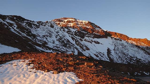 Sunrise on Twin Peaks
