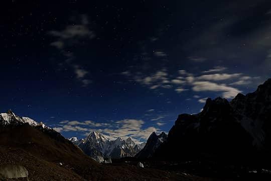 102- Moonlit Gasherbrum IV