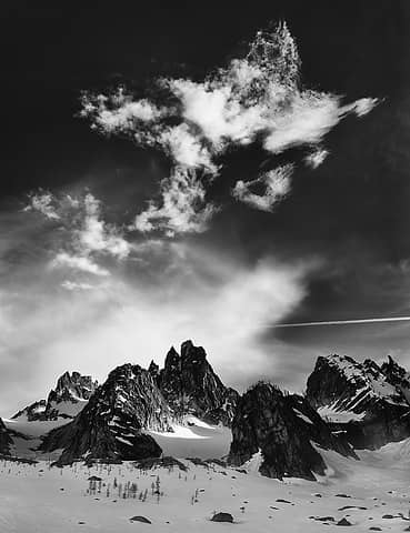 Clouds over the North Cascades