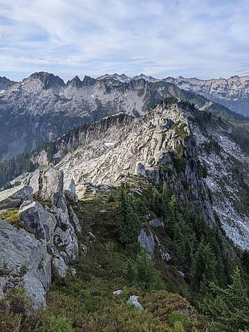 Ridge to 6078' and beyond