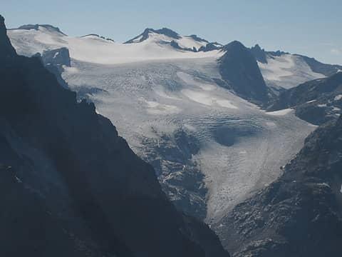 Kololo and the Honeycomb glacier