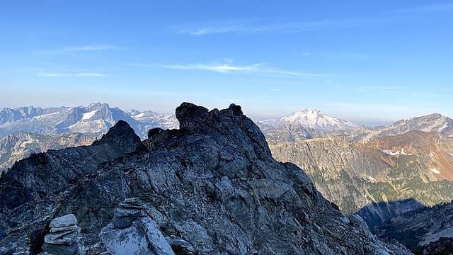 Ridge and Glacier Peak