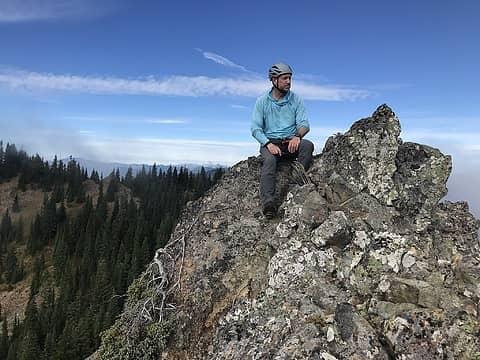#thehad enjoying the summit views. Super stoke!