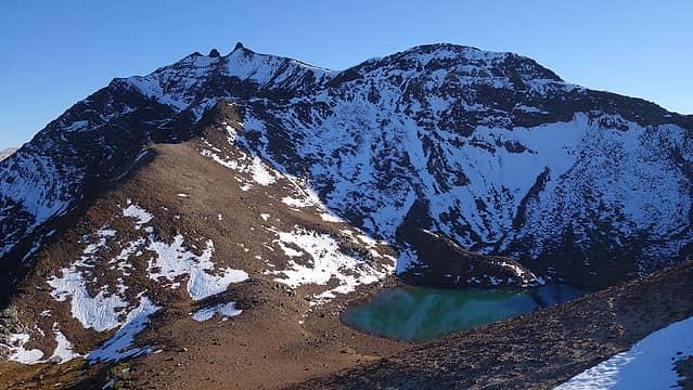 Legore Lake and Twin Peaks