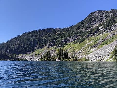 Rafting to Island