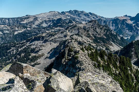 east ridge to hinman & daniel