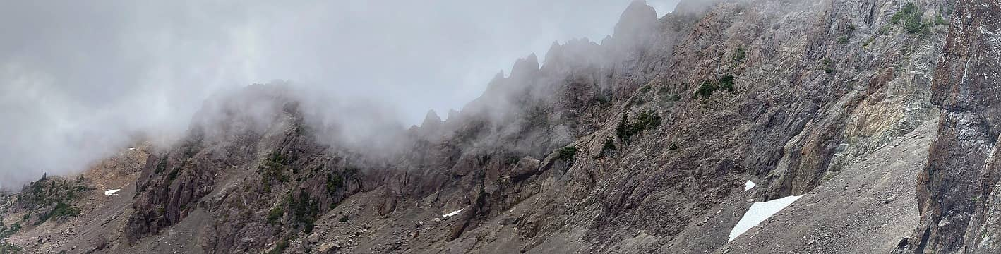 View of the Washington – Ellinor Ridge