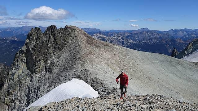 Heading up to summit