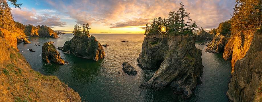 Oregon Coast Sunset © awilsondc