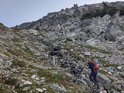 Gully terrain
