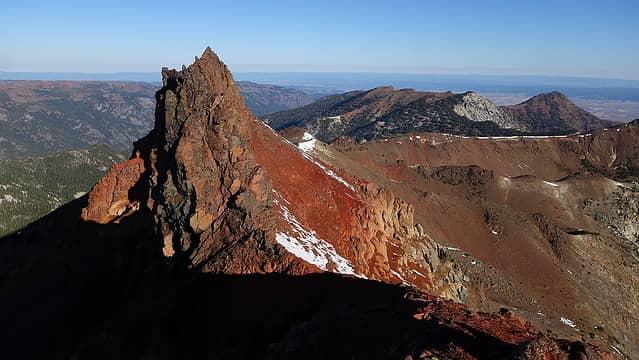 Twin Peaks from lower south peak