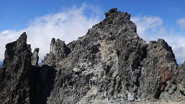 Mount Daniel summit block