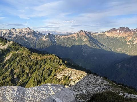 Ridge from 6078'