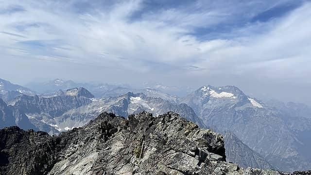 Hazy Glacier Peak
