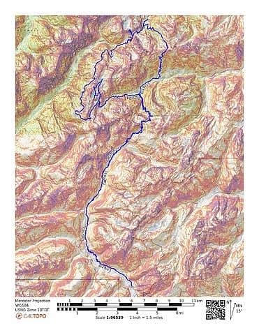 distance 63.11mi range 820' to 5558' +23555' -23552'
