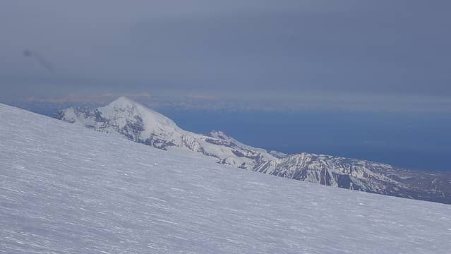 Mount Drum as we ascend to the summit