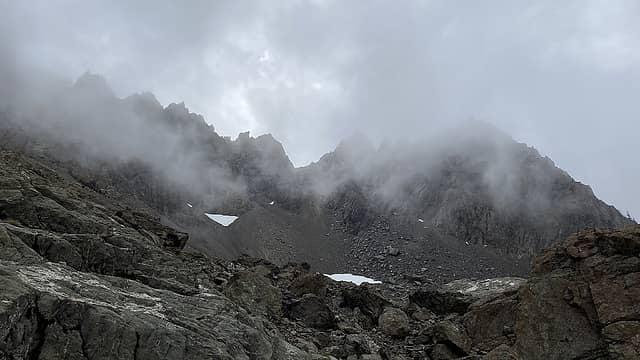 View of the Washington Ellinor Ridge