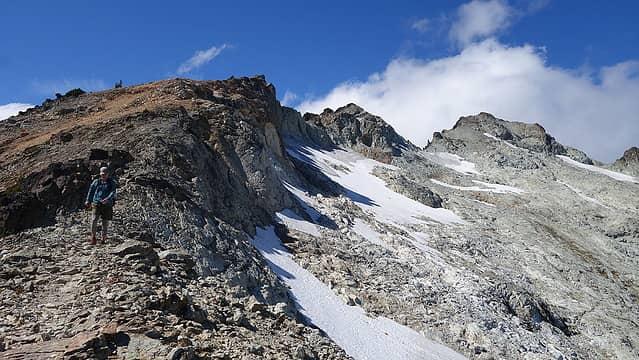 Mount Daniel SE ridge view